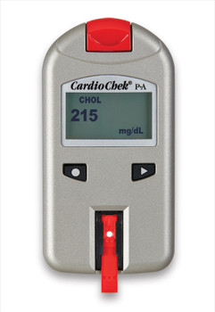 CardioChek PA Cholesterol Testing Analyzer PTS-1708 Red