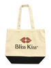 Whether you're going to the farmers market, the gym, the beach, the store, or even to the library, now you can carry your supplies with Bliss!     This adorable and generously sized canvas tote is more than just a pretty face. Made from durable canvas, it's tough enough to get you and your goodies to wherever you're going.