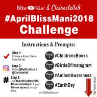April 2018 Manicure Challenge - Featuring @Clairestelle8!
