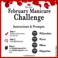SIMPLY FUN! February Nail Prompt-Mani Challenge is HERE!