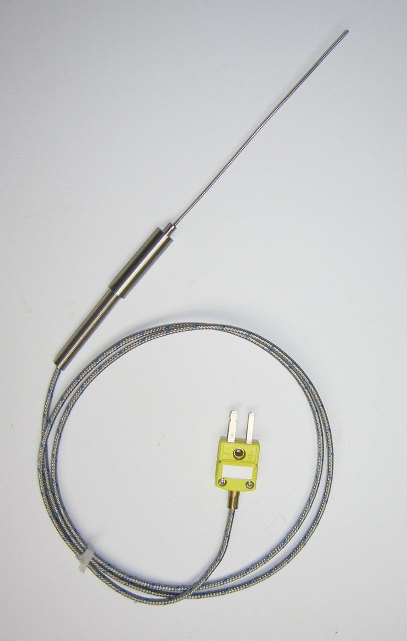 Ultra Thin Stainless Steel K-type Thermocouple Flexible Sensor ...