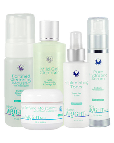 Powered by the hydrating effects of Omega 3-6 and Hyaluronan this system will penetrate quickly, and provide immediate moisture to dry skin - leaving it smoother, balanced and refreshed.
