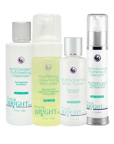 These light-weight non-greasy potent products are designed to help reduce the look of lines and wrinkles plus protect, hydrate and reverse the signs of aging in a simple to use system – it's just that easy!