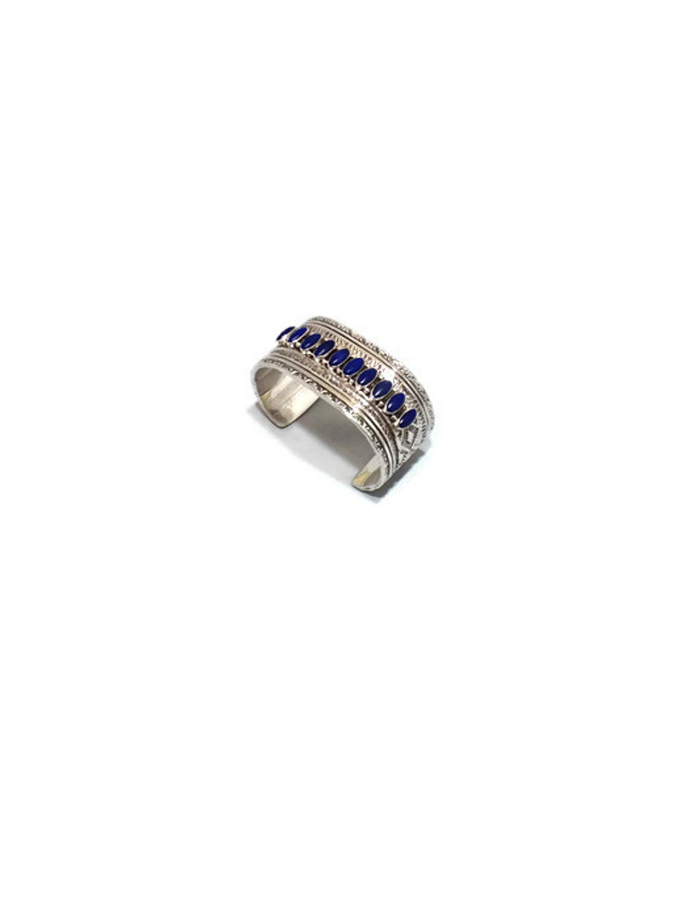 Chaco Canyon Lapis Cuff Bracelet
