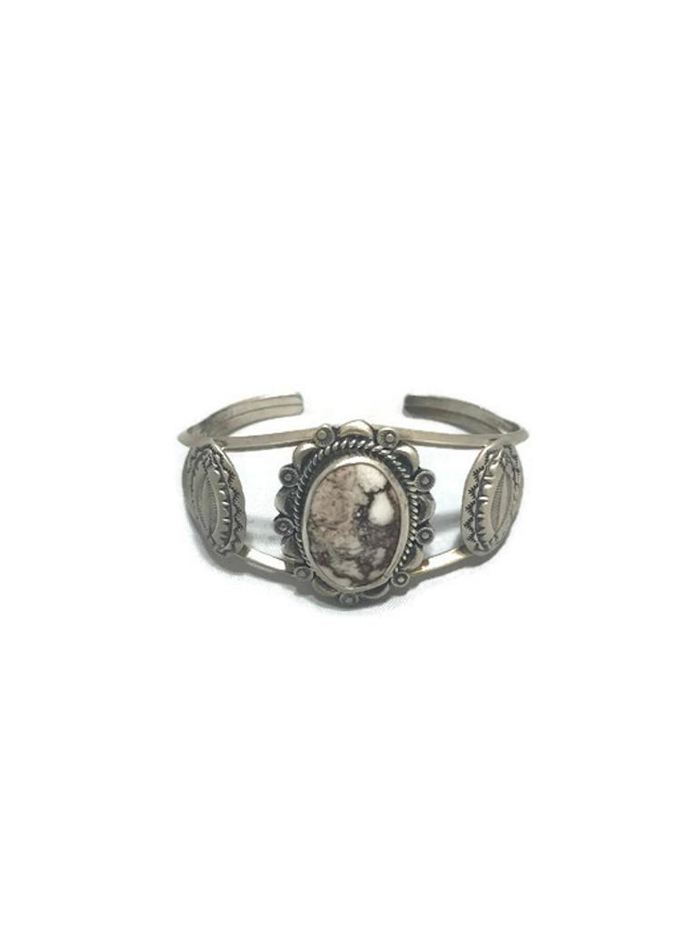 Chaco Canyon wild horse stone Cuff Bracelet
