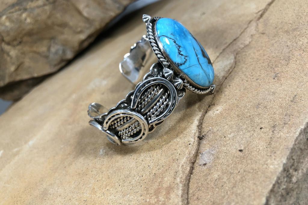 Chaco Canyon Horse Shoe Cuff Bracelet