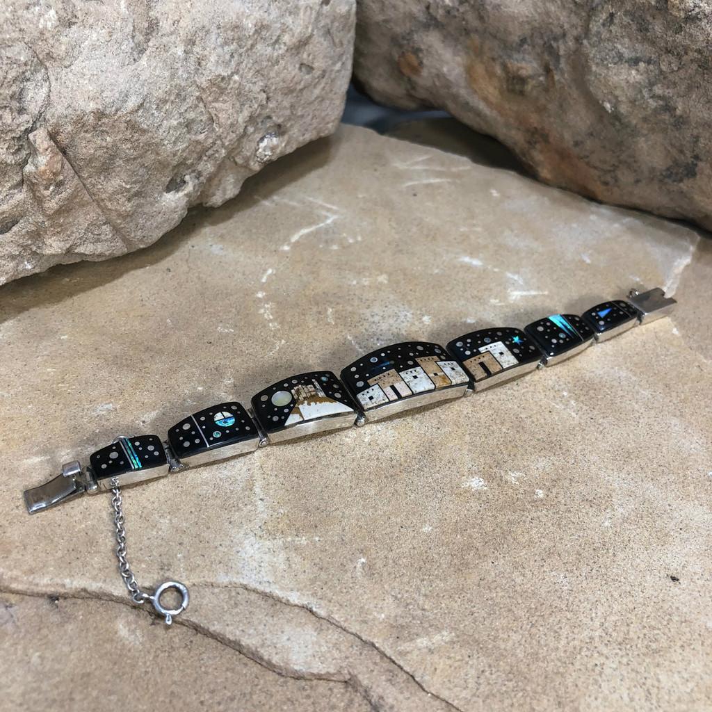 Chaco Canyon Calvin Begay Navajo Bracelet