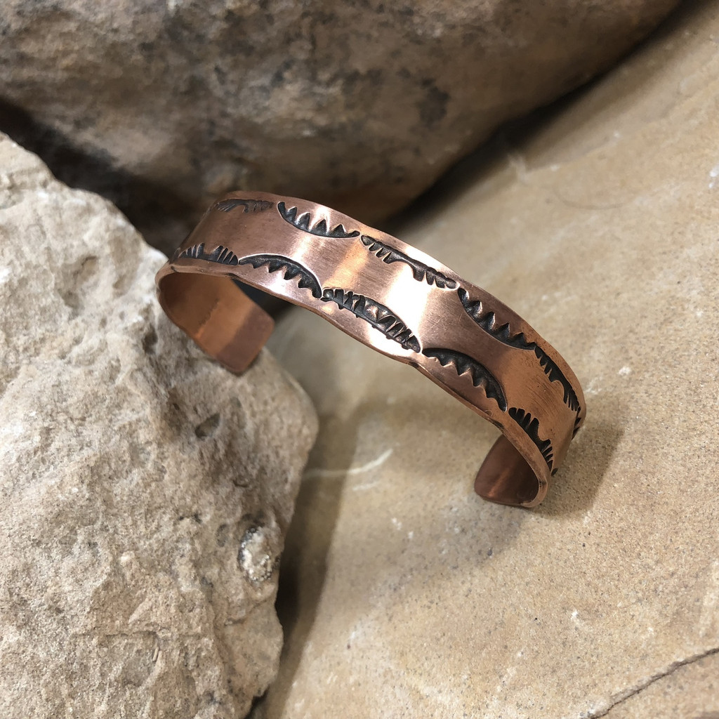 Chaco Canyon Copper Cuff Bracelet