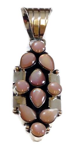 Cluster Pendant .925 Sterling Silver Navajo Tribe Native American Jewelry Artist: Sheena Jack