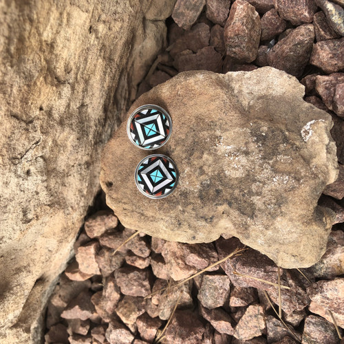 Chaco Canyon Zuni Earrings