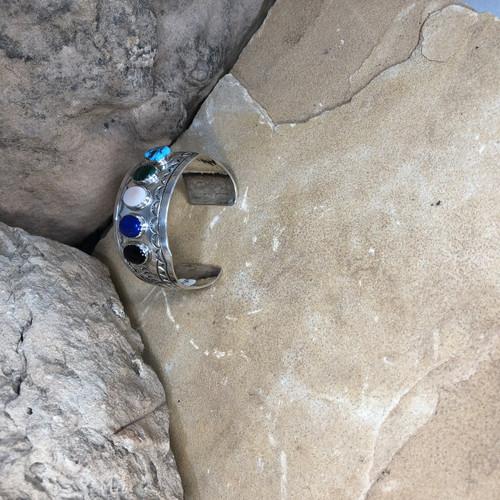 Chaco Canyon Mix Stone Cuff Bracelet