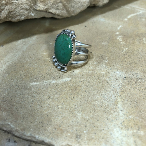 Chaco Canyon Malachite Ring