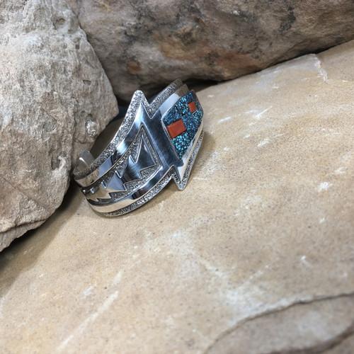Chaco Canyon Navajo Inlay Cuff