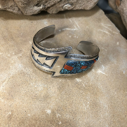Chaco Canyon Navajo Inlay Cuff