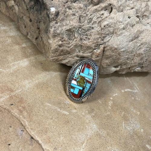 Chaco Canyon Inlay Ring