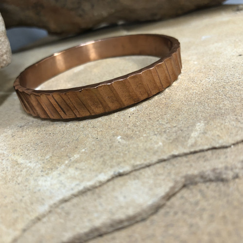 Chaco Canyon Copper Bangle Bracelet