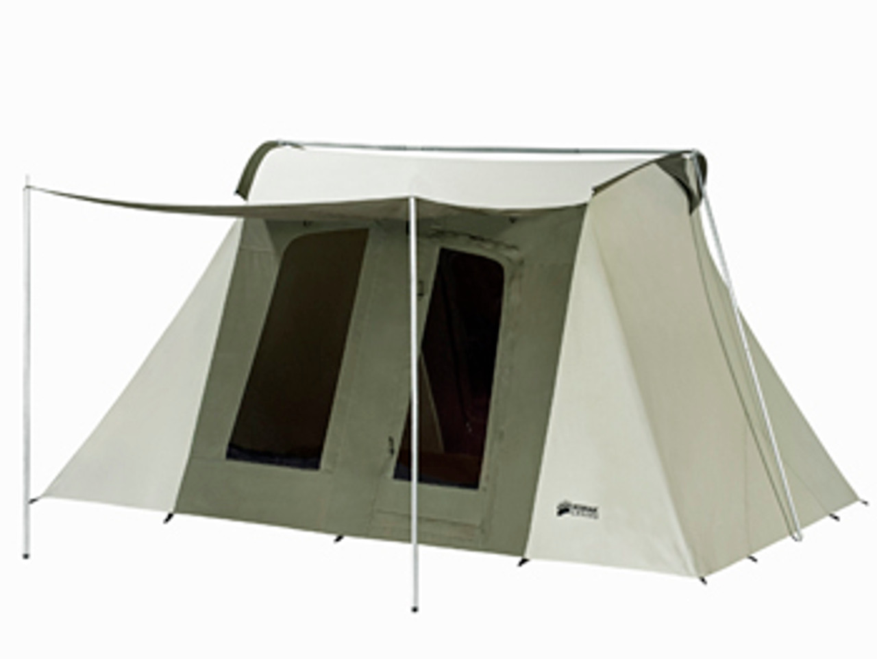 10 x 14 ft. Flex-Bow Canvas Tent - Deluxe