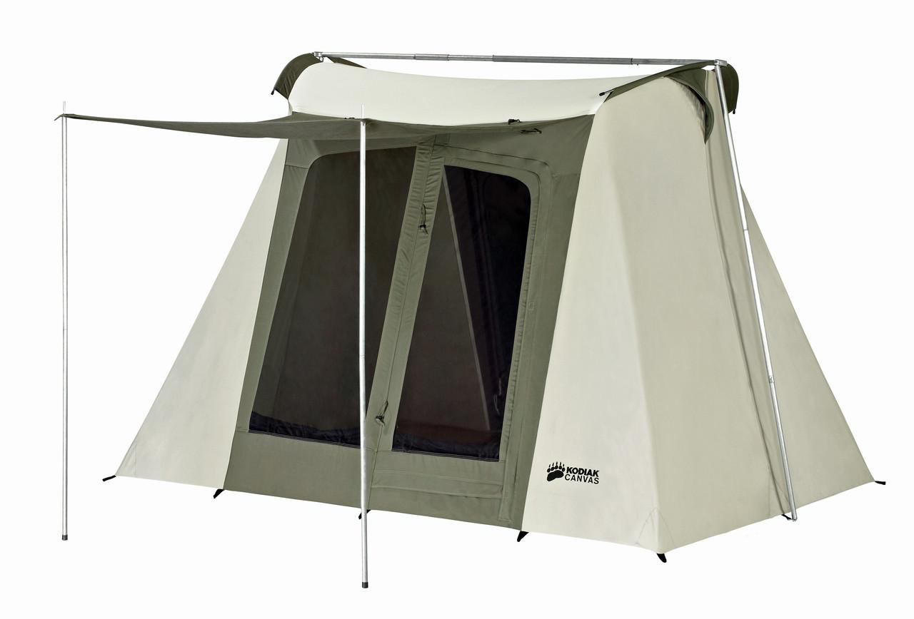 9 x 8 ft. Flex-Bow Canvas Tent - Deluxe