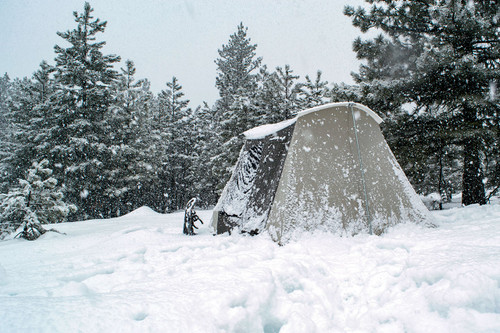 Winter Camping (Photo by Jason Darrah)