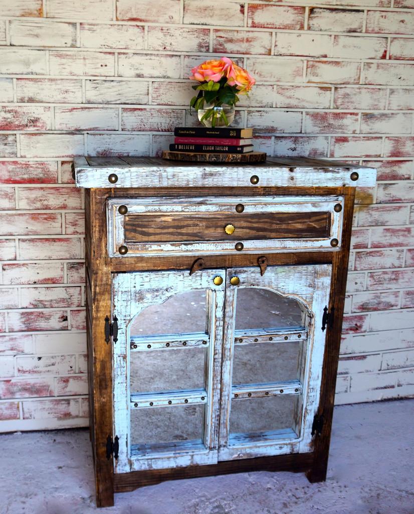 Arco Cabinet-Mirrored Doors