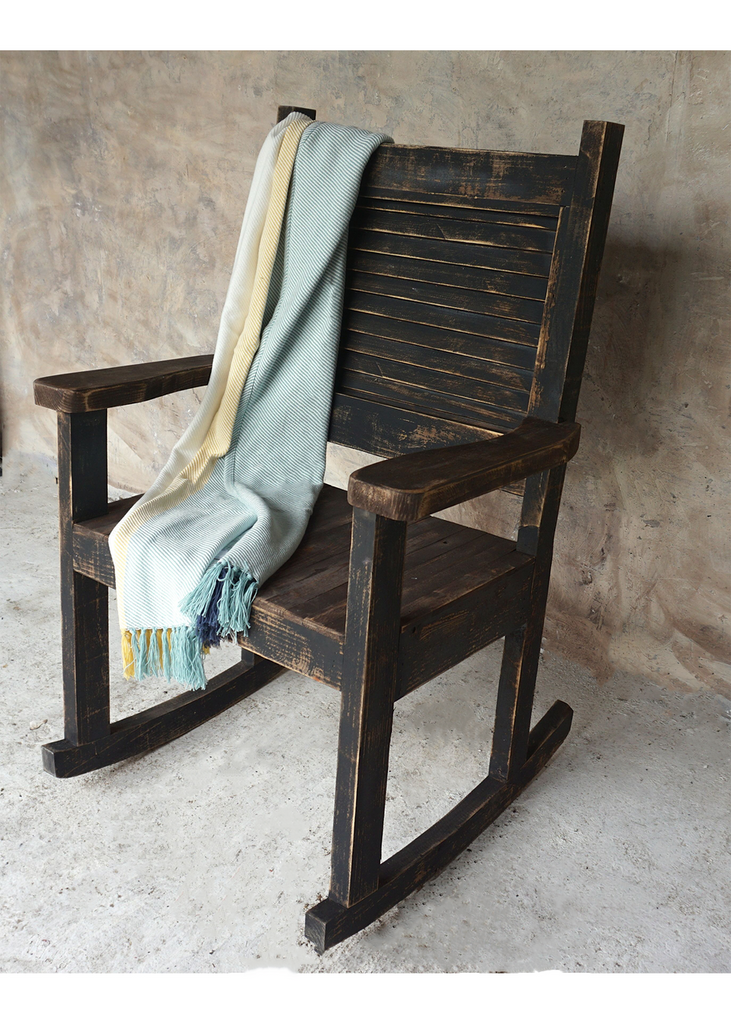 Jacinto Rustic Rocking Chair