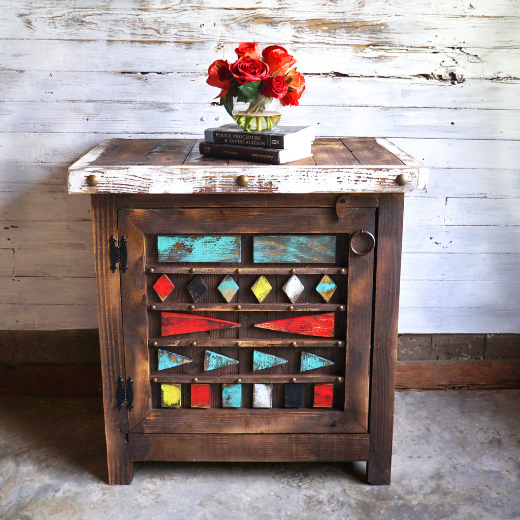 Aztec side table