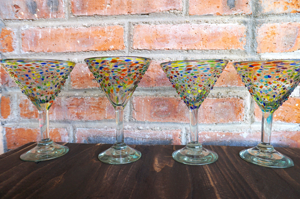 Fiesta Mexican Martini Glass Set of 4