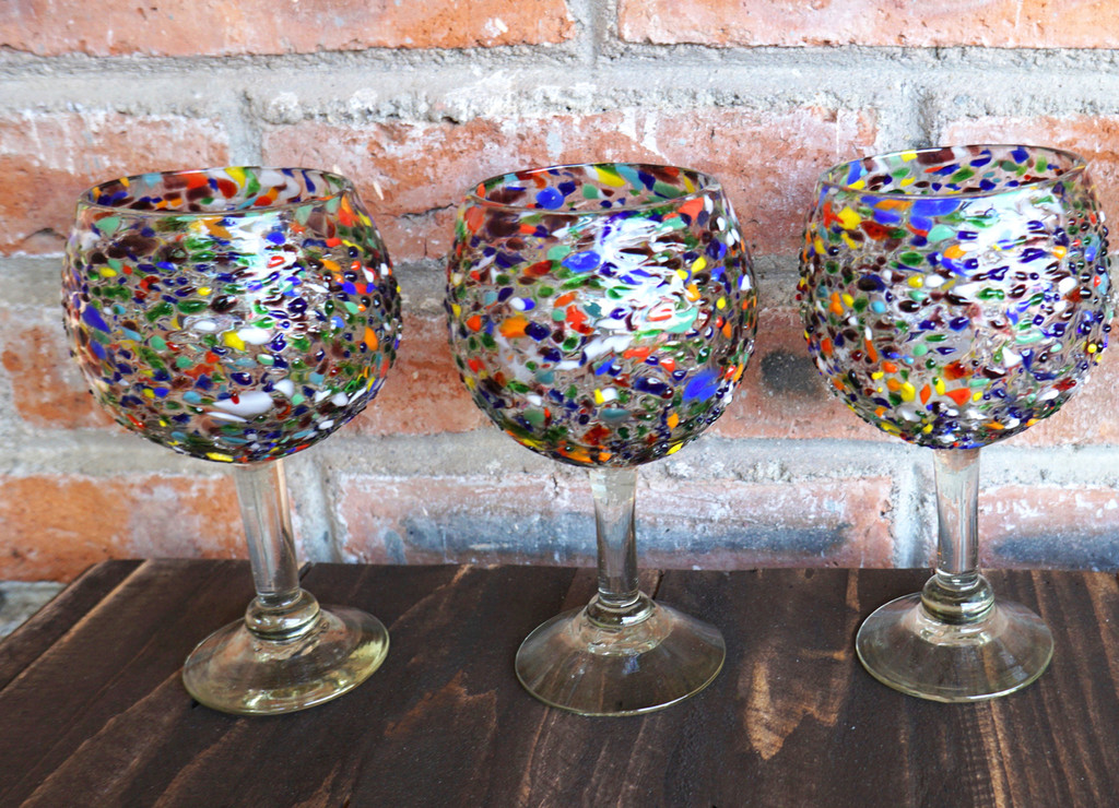 Fiesta Wine Glass Set of 4