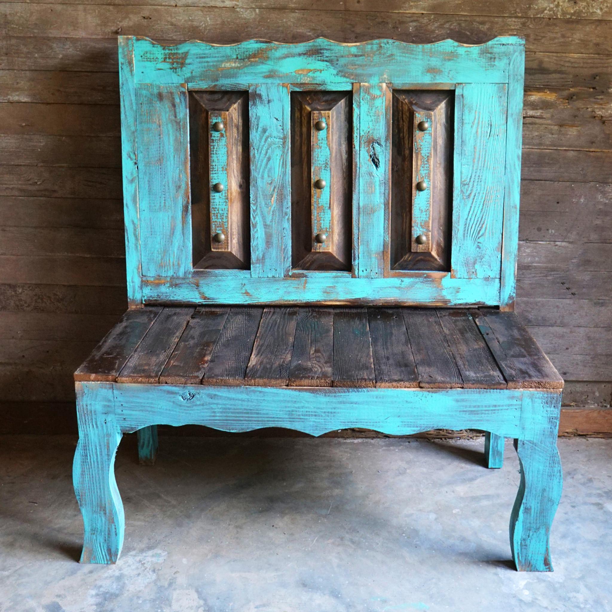 Old Door Style Bench & Old Door Style Bench - Sofia\u0027s Rustic Furniture