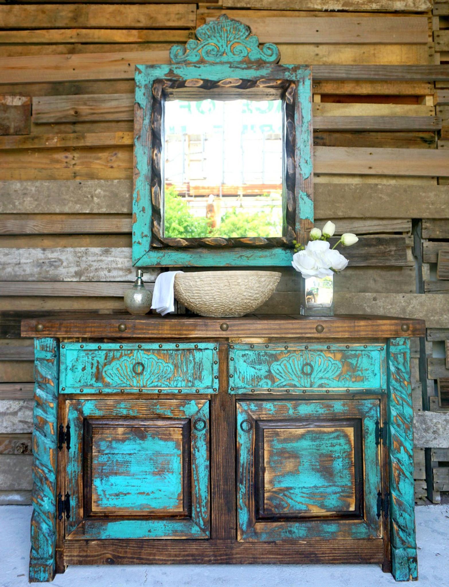 Images Of Rustic Furniture. Home · Rustic Furniture; Agave Bathroom Vanity.  Vanity Shown