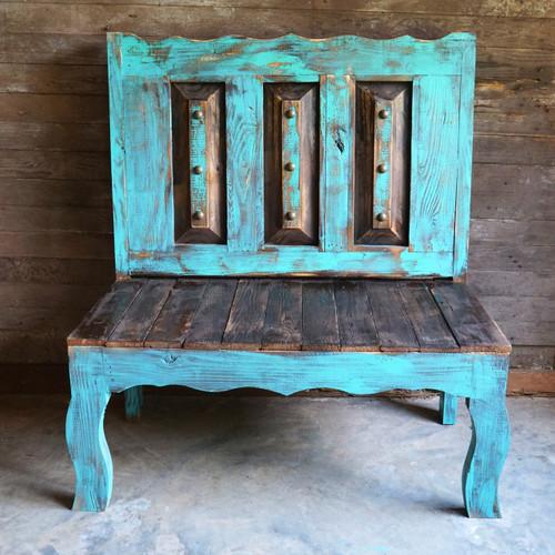 Old Door Style Bench
