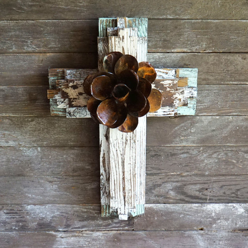 Tribal Cross Shabby