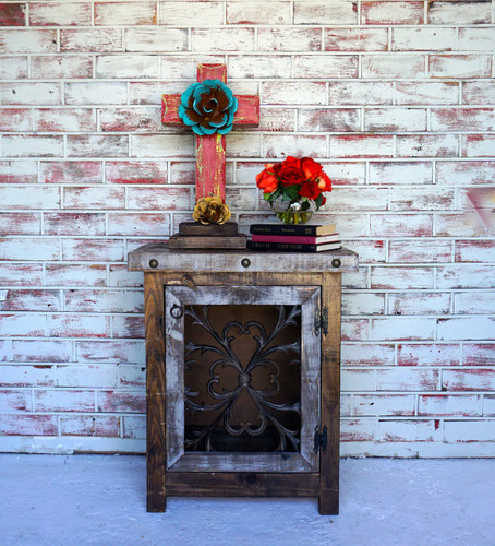 Flora Iron Side Cabinet
