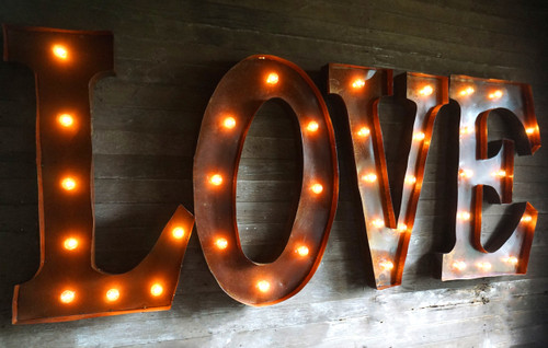 LOVE Marquee Letters 36""