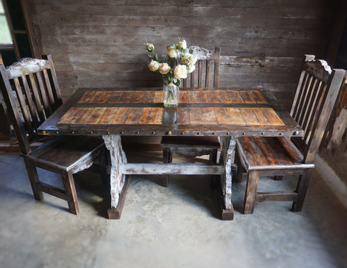 Polanco Farm Table & 6 Chairs