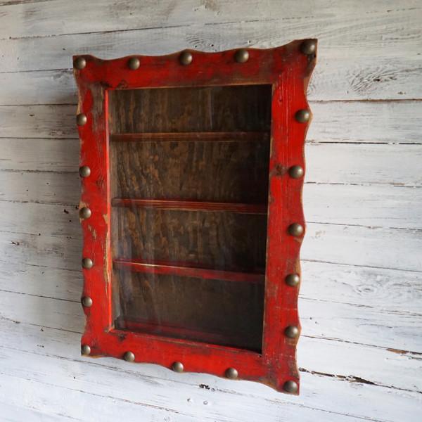 Rustic Beltbuckle Display Shadowbox