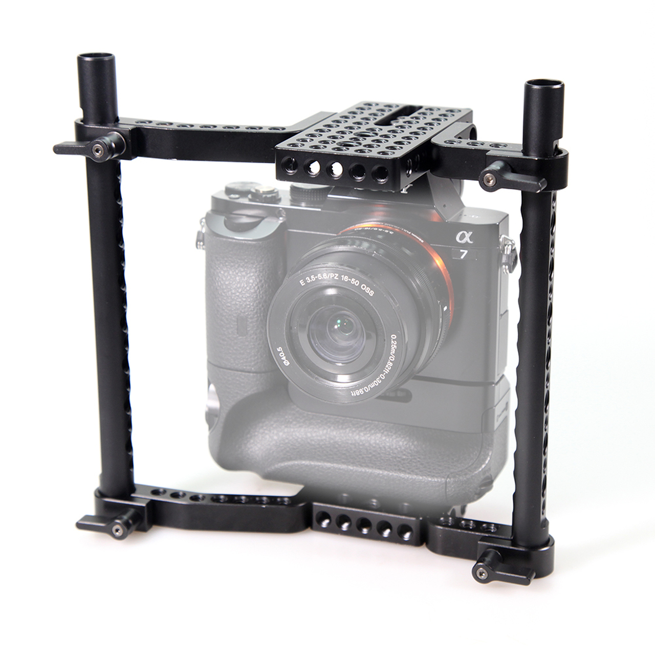 SmallRig Large Camera Cage for Sony A7 Panasonic GH5 1750