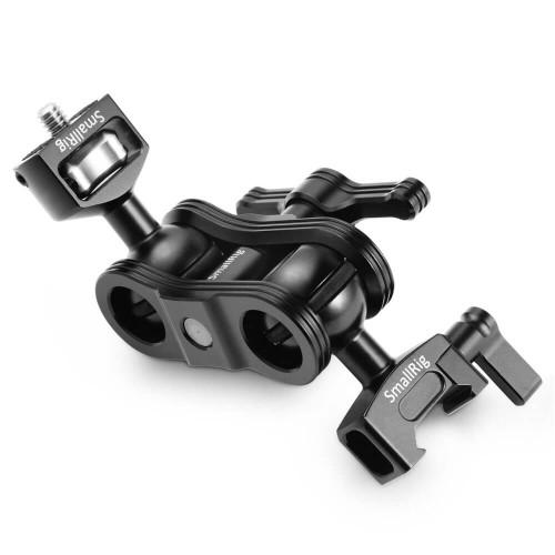 SmallRig Articulating Arm with Screw Ballhead and NATO Clamp Ballhead 2071