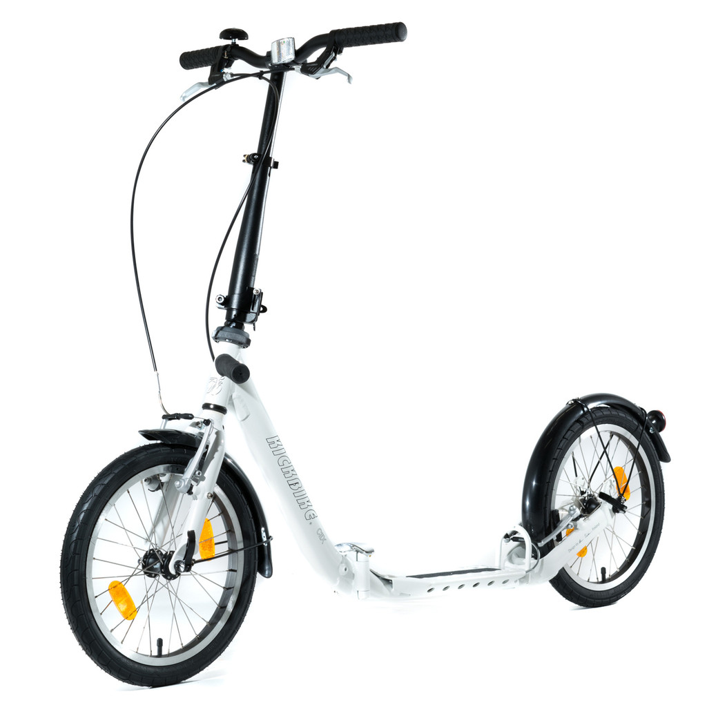 CliX Folding Scooter White