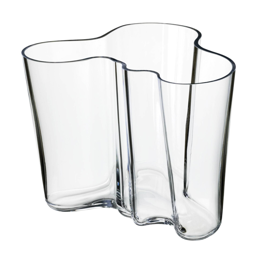 AALTO Vase 160mm Clear