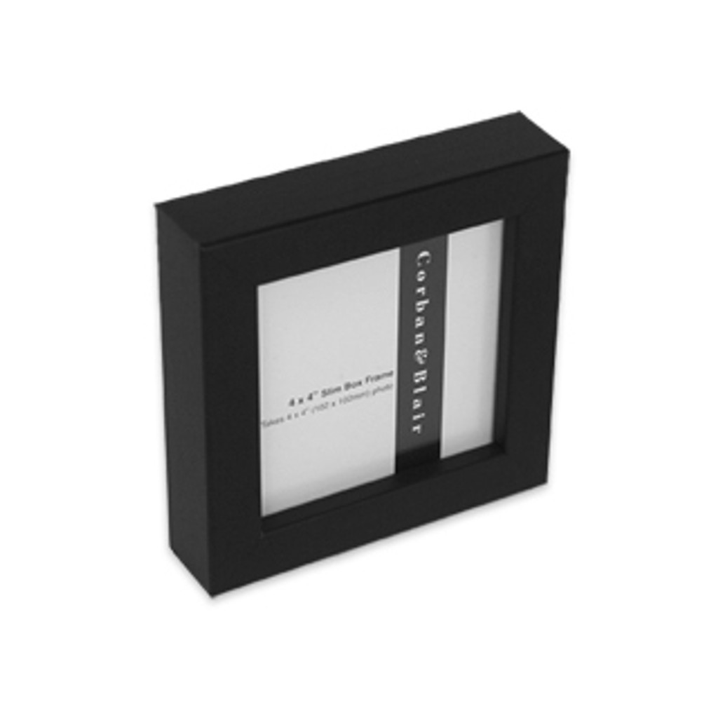 "SLIM BOX FRAME 4x4"" Black"