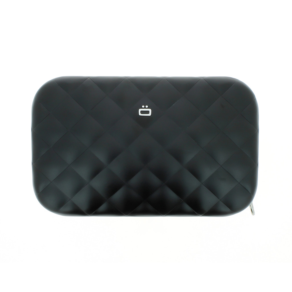 Clutch Quilted Ladies Bag - Black