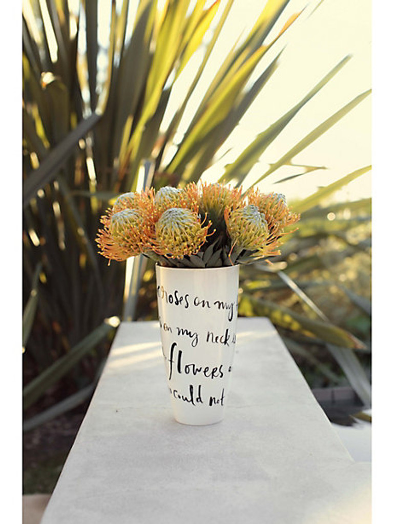 Daisy Place vase (I'd Rather Be) Vase