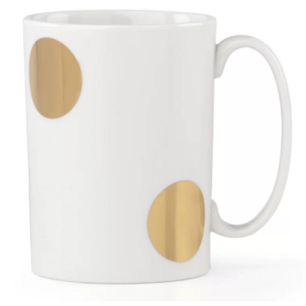 Everdon Lane - Large Gold Dot Mug
