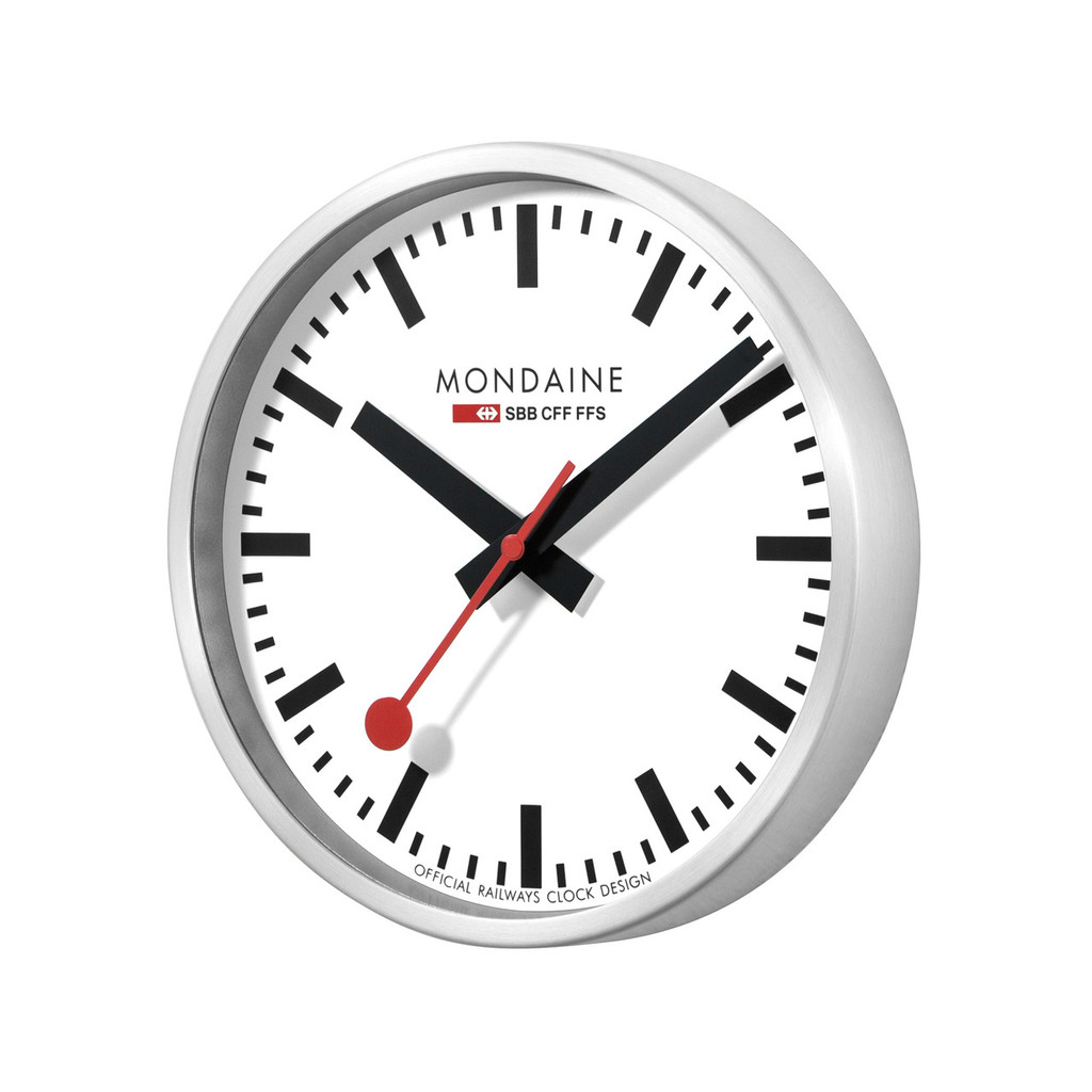 Mondaine 25cm Stop2Go Smart Clock