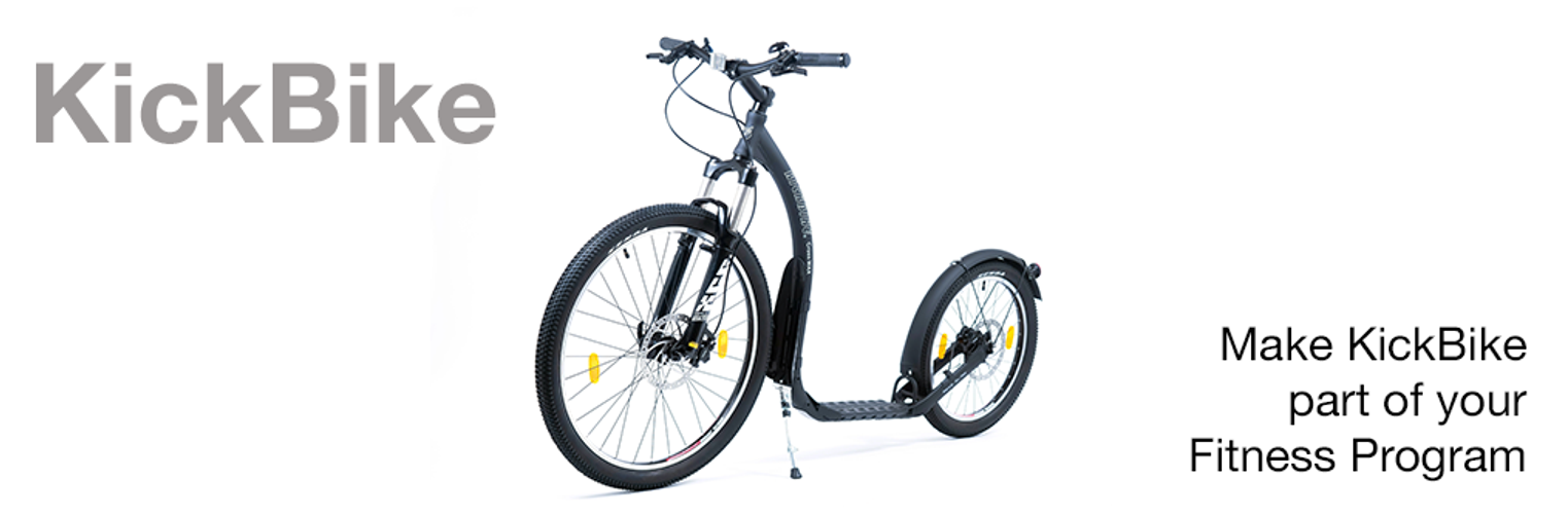 Make Kickbike part of your fitness or weight loss regime.