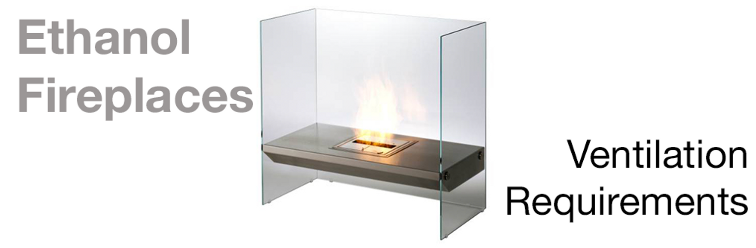 Ventilation Requirements with Ecosmart Flueless Fireplace