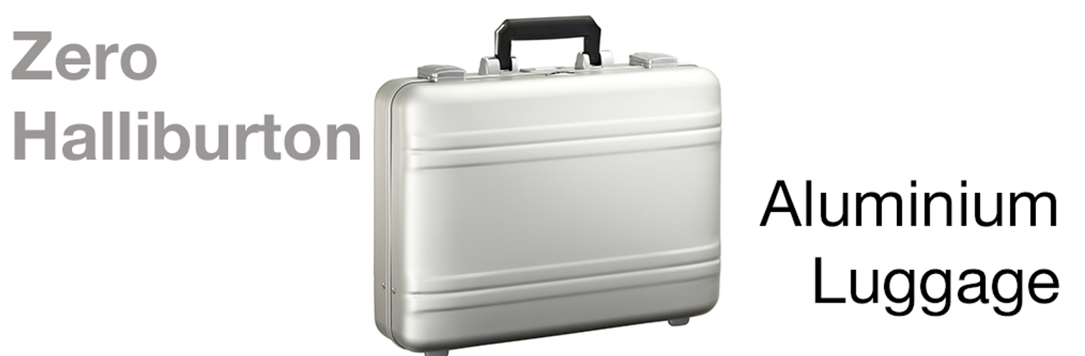 Aluminium Luggage from Zero Halliburton