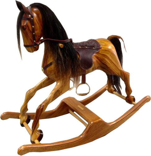 Rocking Horse - Wooden Bow Rocker