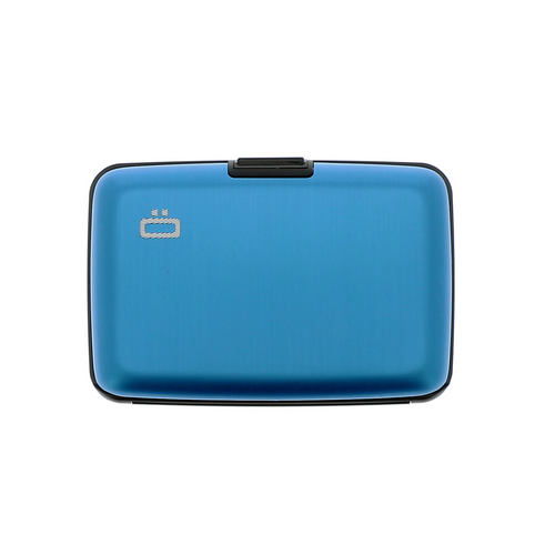 Case Blue RFID Safe Wallet